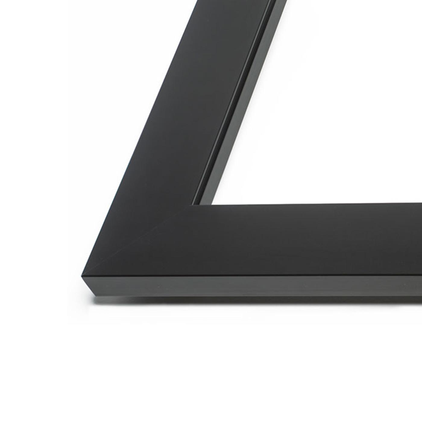 Aluminium anodisé noir mat