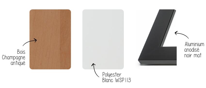 materiaux armoires polyester bois aluminium alicia moffet