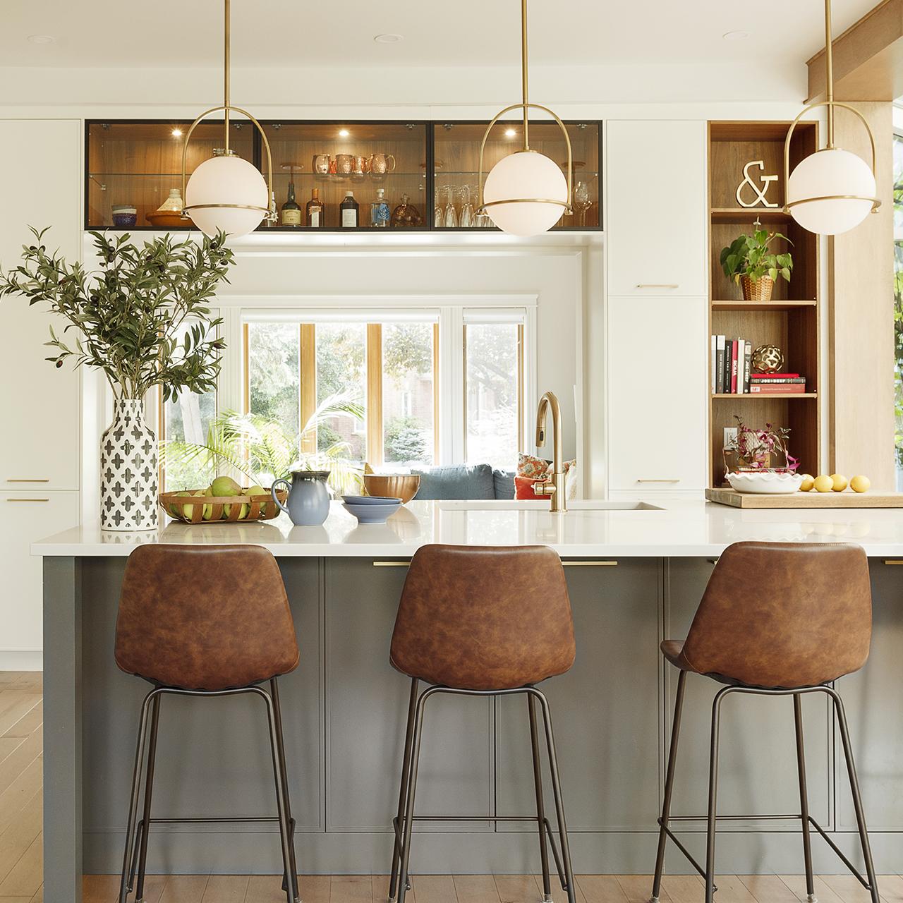 portes vitrees noires aluminium armoires cuisines action
