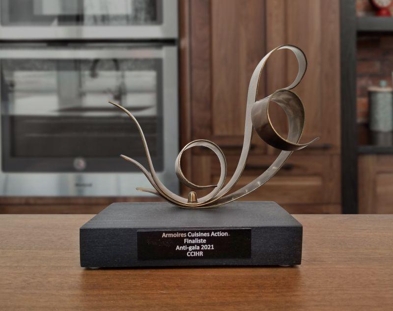 Trophée Armoires Cuisines Action Finaliste 2021