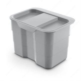 Compost bin with lid 4,2 liters