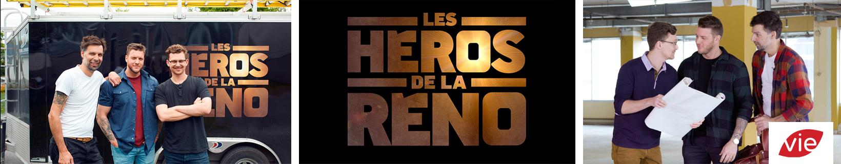 Les héros de la réno Canal vie participation Armoires Cuisines Action