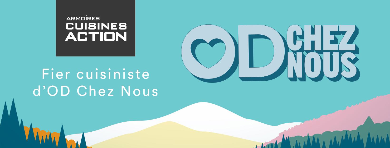 Armoires Cuisines Action est fier cuisiniste d'Occupation Double au Québec