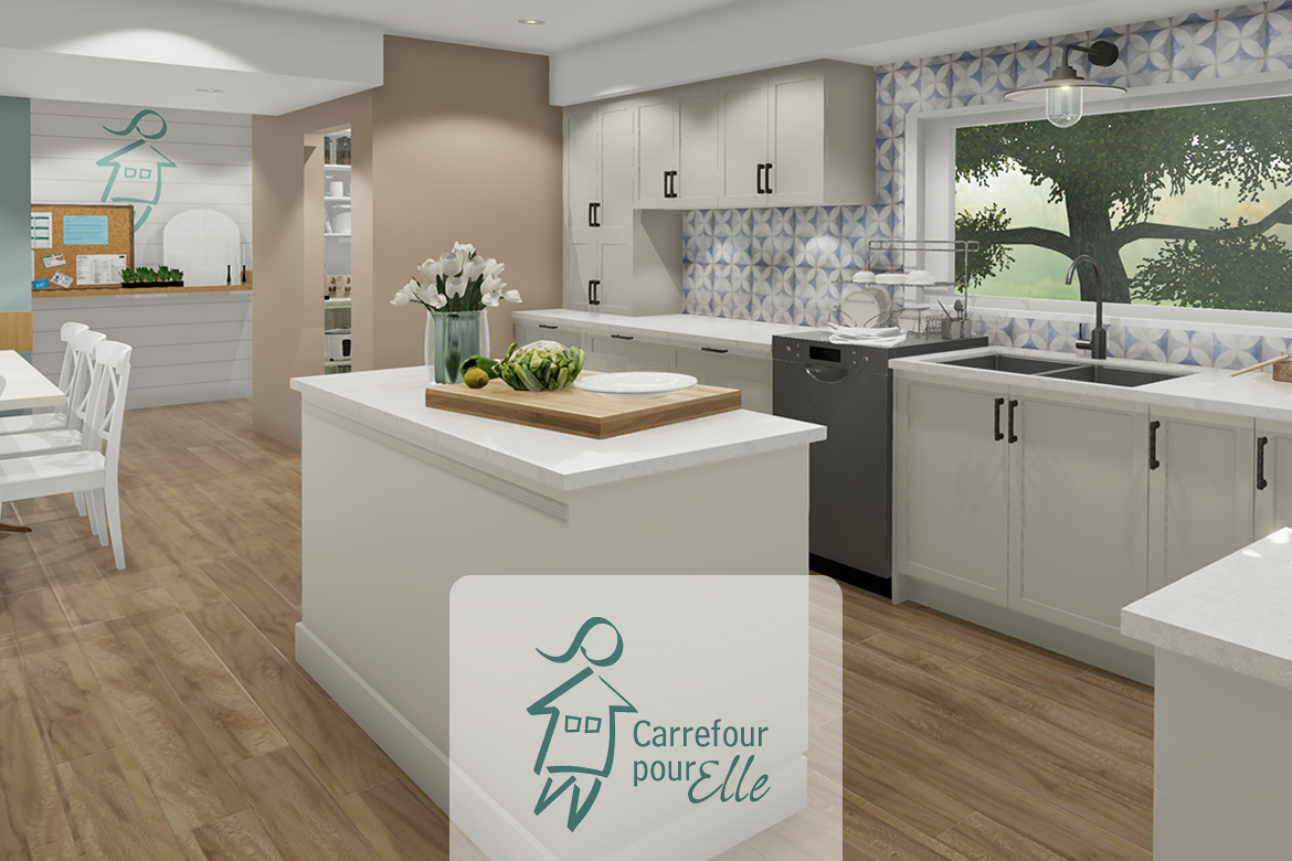 Sweetness for the Carrefour pour elle house