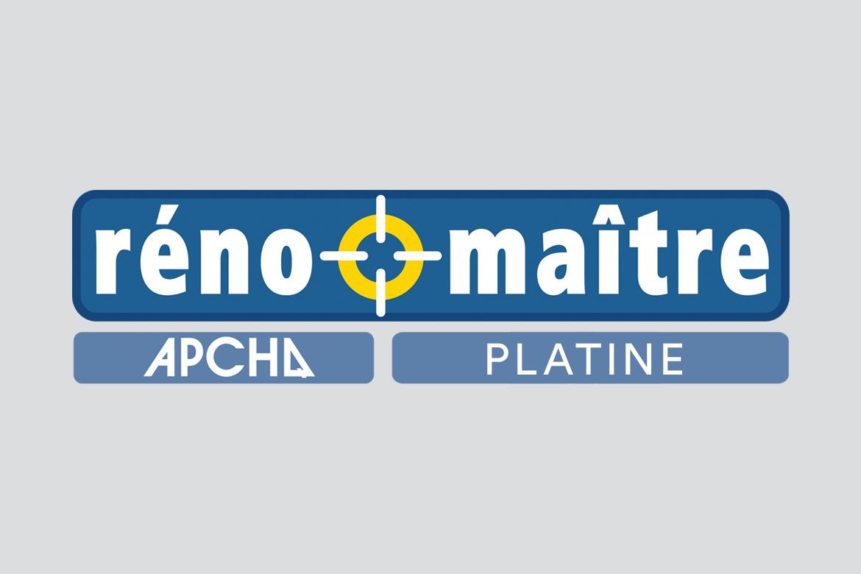 Palme platine Réno-Maître de l'APCHQ